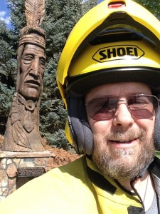 Me and the Worland, Wyo. Whispering Giant